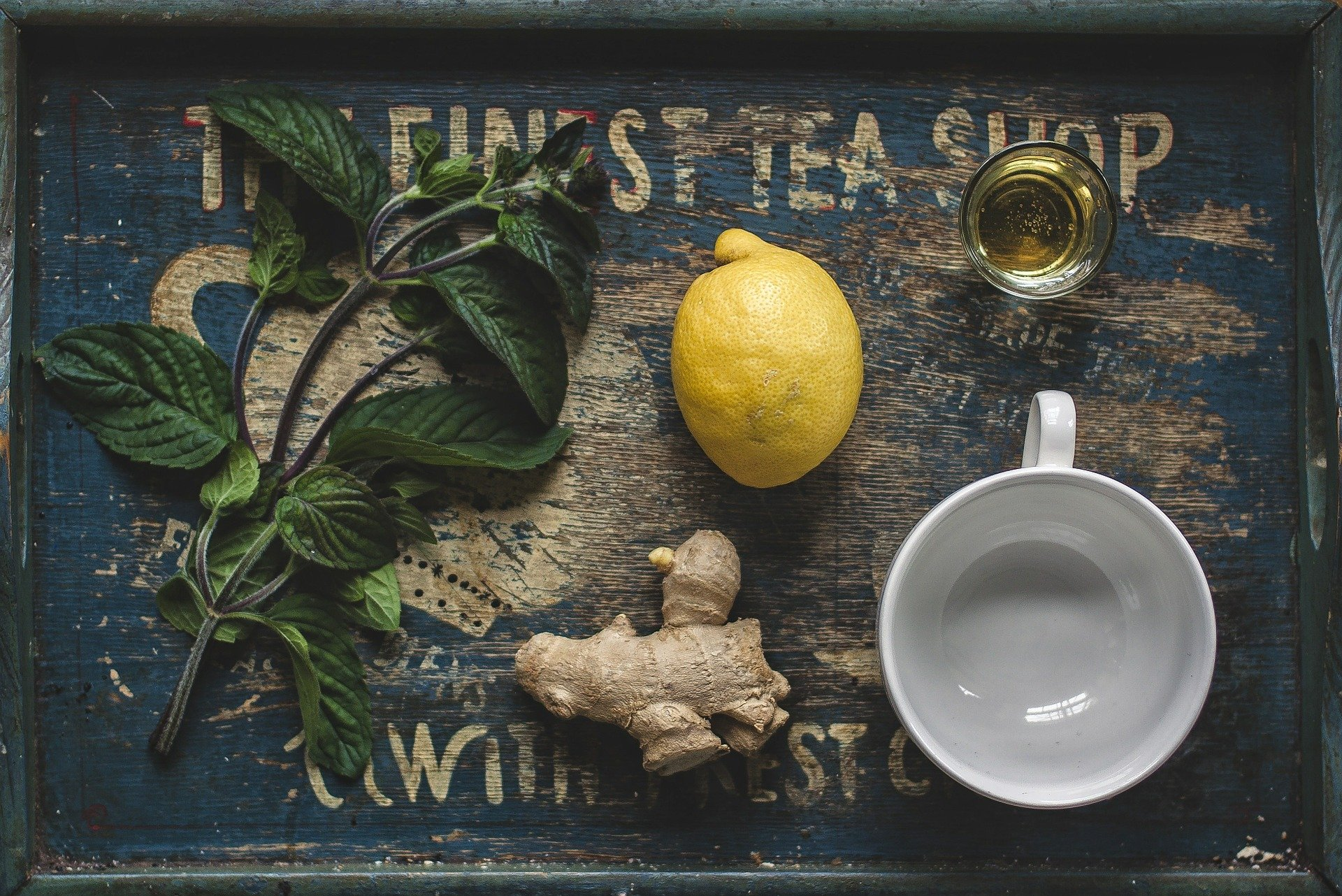 Honey-Lemon-Ginger Cough Sirup