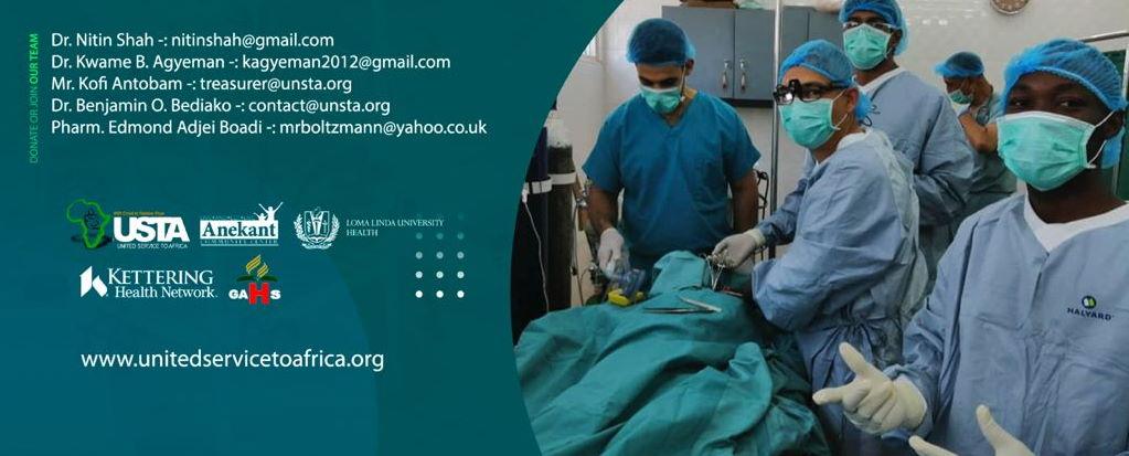 ENAD medical mission – Ghana